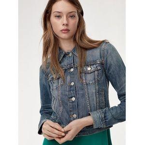 ARITZIA Talula Edo Denim Jean Jacket 100% Cotton